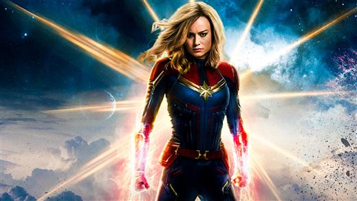 Bild för Captain Marvel, 2019-03-13, Järpenbion