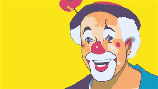 Bild för Barnsöndag på Tonsalen - Clownen Manne, 2016-09-04, Teater Sláva, Tonsalen i Huddinge