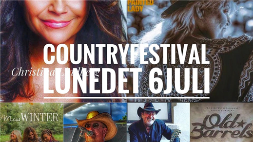 Bild för Countryfestival Lunedet  Karlskoga, 2019-07-06, Lunedet Camping Cafe Restaurang