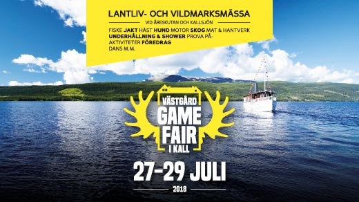 Bild för Västgård Game Fair 2018, 2018-07-27, Västgård Game Fair