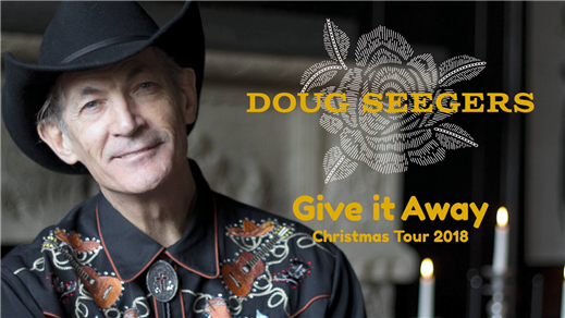 Bild för Doug Seegers - Give It Away Christmas Tour 2018, 2018-11-22, Hults kyrka