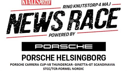 Bild för KvP NewsRace Powered by Porsche, 2019-05-04, Ring Knutstorp