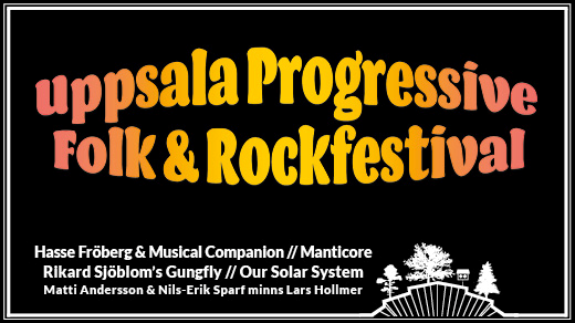 Bild för Uppsala Progressive Folk & Rock | Parksnäckan, 2018-08-25, Parksnäckan, Stadsträdgården