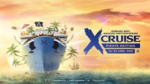 Bild för X-CRUISE - PIRATE EDITION - 26-28 APRIL, 2018-04-26, Värtahamnen