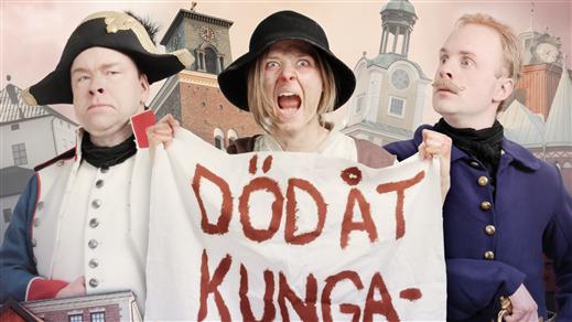 Bild för Förbannade frihetskämpar- Nyköpingsvandringen 2021, 2021-07-14, Nyköpingsvandringen