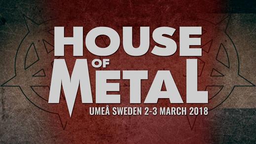 Bild för House of Metal 2018, 2018-03-02, Umeå Folkets Hus