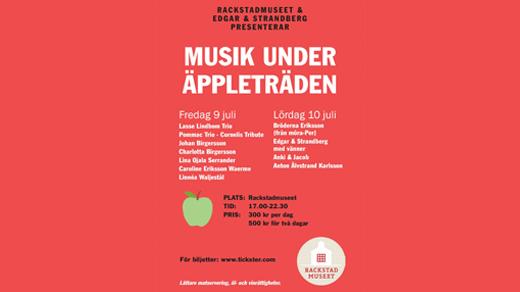 Bild för Musik under äppleträden, 2021-07-09, Rackstadmuseet