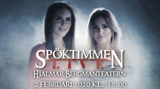 Bild för Spöktimmen LIVE, extraföreställning, 2020-02-02, Hjalmar Bergman Teatern