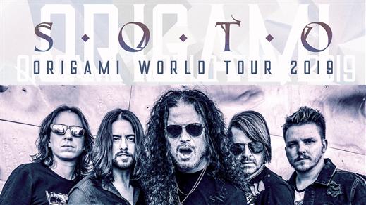 Bild för SOTO - ORIGAMI WORLD TOUR 2019 + Support, 2019-09-11, Sticky Fingers