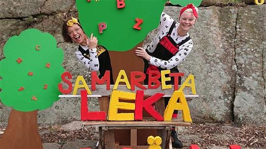 Bild för Dansa dansa vårt sagoalfabet med Happy Shake 13:30, 2020-09-05, Dalaborgsparken, Vänersborg