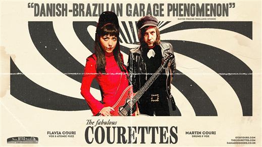 Bild för The Courettes (Bra/DK) + The Bitchwaves, 2022-02-17, medley – musik, mat & mer