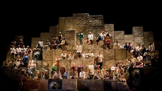 Bild för Nabucco live från Metropolitan, 2017-01-07, Landskrona Teater
