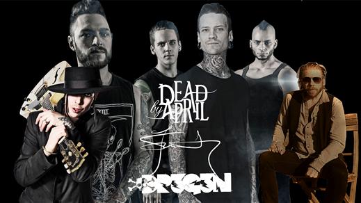 Bild för DJ Dregen, Dead by April och Jay Smith, 2018-09-15, Halmstad Live