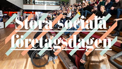 Bild för Stora Sociala Företagsdagen 2020, 2020-10-06, Online