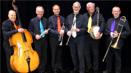 Bild för Sir Bourbon Dixieland, 2020-10-21, Kulturum   Stora scenen