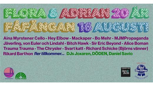 Bild för Flora & Adrian 20 år, 2019-08-16, Fåfängan