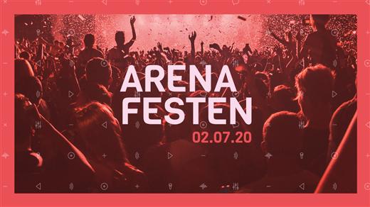 Arenafesten 2021 - NP3 Arena - Sundsvall - 8 juli 2021