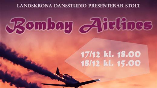 """Bild för Boardingpass """"Bombay Airlines"""", 2016-12-17, Landskrona Teater"""