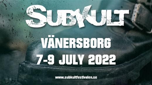 Bild för Subkultfestivalen - 5 Year Anniversary, 2022-07-07, Trollhättan