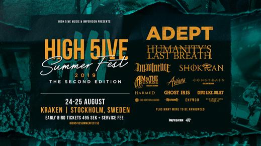 Bild för High 5ive Summer Fest 2019, 2019-08-24, Kraken