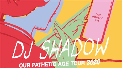 Bild för DJ SHADOW: Our Pathetic Age Tour, 2020-06-10, Mosebacketerrassen