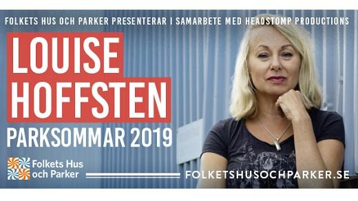 Bild för Louise Hoffsten – Parksommar 2019, 2019-07-18, Vetlanda Folkets Park
