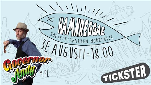 Bild för Hamnreggae 2018, 2018-08-03, Friluftsscenen Societetspaviljongen Norrtälje