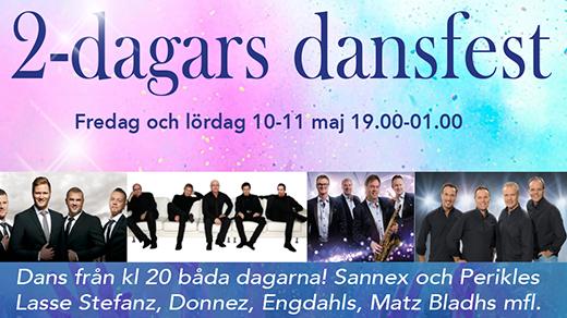 Bild för 2-Dagars Dansfest 10/5-19, 2019-05-10, Sundspärlan
