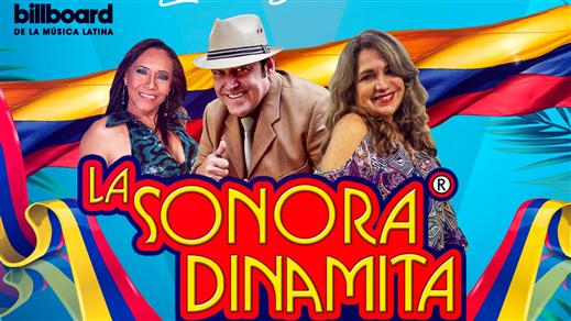 Bild för La Sonora Dinamita Live I Stockholm!, 2019-03-09, Kraken T-Globen