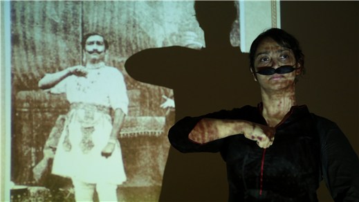 Bild för Lady Anandi med Anuja Ghosalkar -Gästspel Tonsalen, 2018-02-23, Teater Sláva, Tonsalen