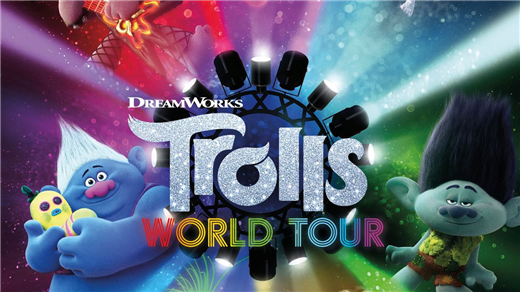 Bild för Trolls 2: Världsturnén (Sv. tal), 2020-10-11, Biosalongen Folkets Hus