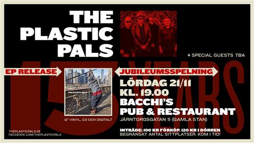 Bild för The Plastic Pals 16 år, 2021-03-20, Bacchi´s Pub