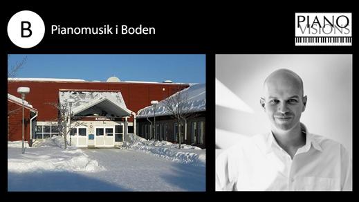 Bild för Pianoafton med Anders Kilström, 2017-04-20, Björksalen i Boden