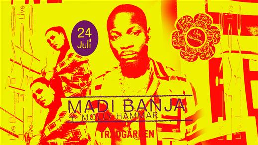 Bild för Live Sessions: Madi Banja + Molly Hammar, 2019-07-24, Trädgården