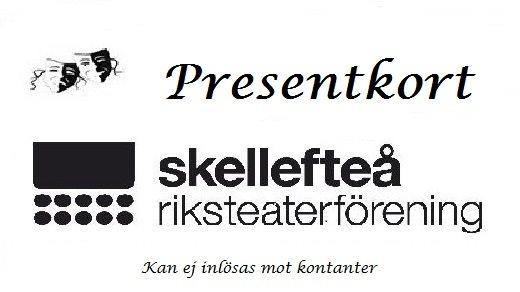 Bild för Presentkort, 2017-01-01, Skellefteå Riksteaterförening