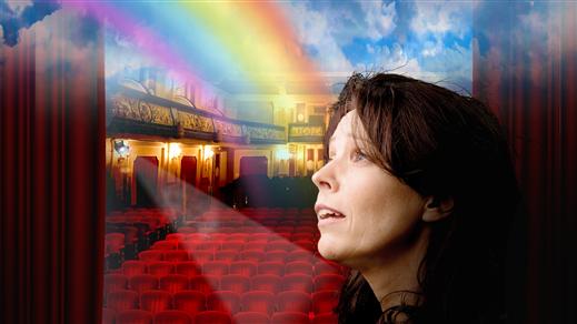 Bild för Drömmen om regnbågen 19/3 kl. 12:00, 2020-03-19, Caféscenen, Västerbottensteatern