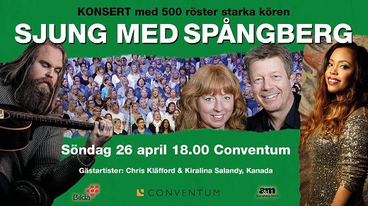 Bild för Chris Kläfford & Sjung med Spångberg, 2020-04-26, Conventum Kongress
