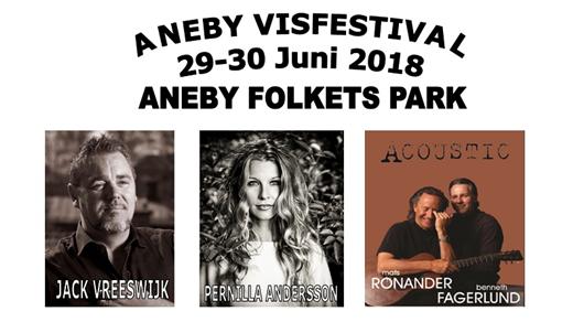 Bild för Aneby Visfestival, 2018-06-29, Aneby Folkets Park
