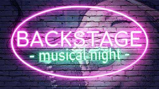 Bild för Backstage - musical night, 2019-12-06, Kvarterscenen 2lång