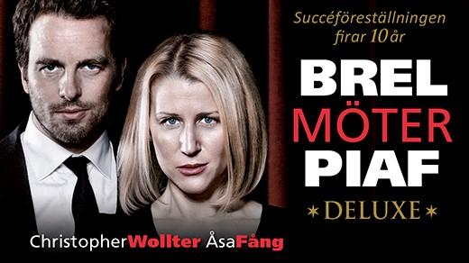 Bild för BREL MÖTER PIAF - DELUXE, 2021-04-21, Oscarsteatern