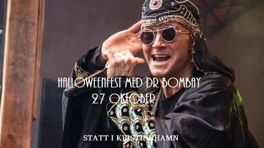 Bild för Halloweenparty med Dr Bombay, 2018-10-27, Stadshotellet i Kristinehamn