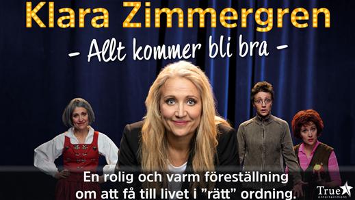 """Bild för """"Allt kommer bli bra"""" - Klara Zimmergren, 2019-12-13, Draken (M)"""