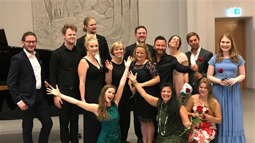 Bild för FRAMTIDENS LYSANDE TALANGER!/TALENTS IN CONCERT!, 2019-08-12, Bohusläns Museum