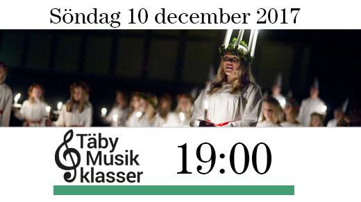 Bild för Luciakväll med Täby Musikklasser kl.19:00, 2017-12-10, Täby Sportcentrum
