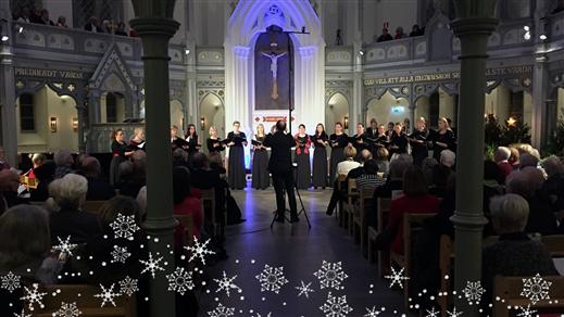 Bild för Vinterfantasi - En julkonsert, 2016-12-17, Ersta kyrka