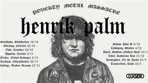 Bild för BD Live! - Henrik Palm + Ett Dödens Maskineri, 2021-11-27, Broken Dreams Auditorium