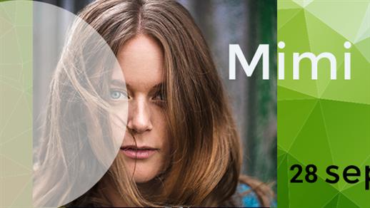 Bild för Musikriket: Mimi Terris, 2018-09-28, Kulturhuset Björnen Åstorp