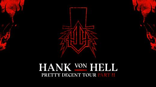 Bild för HANK VON HELL, 2019-11-16, The Tivoli
