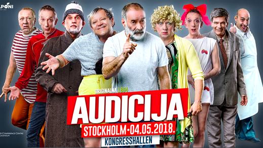 Bild för Audicija - Stockholm, 2018-05-04, Kongresshallen CCCS - Folkets Hus