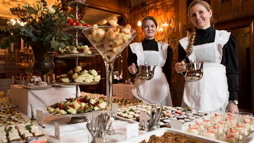 Bild för Afternoon tea 16:00, 2020-03-28, Tjolöholms Slott